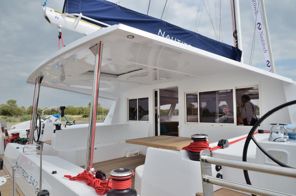 Rent a catamaran Nautitech 542 with crew- 10 persons ...